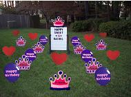 Princess Yard Lawn Greeting